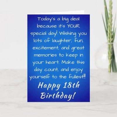 18 Year Old Birthday Designs Card Zazzle