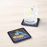 18th Birthday Favors Beverage Coasters
