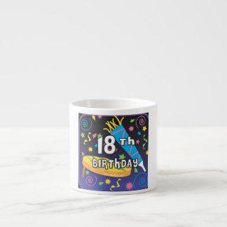 18th Birthday Favors Espresso Cup