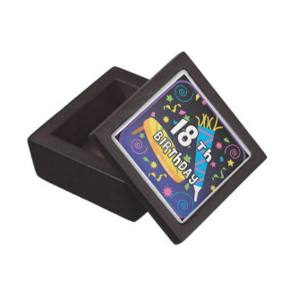 18th Birthday Favors Keepsake Box