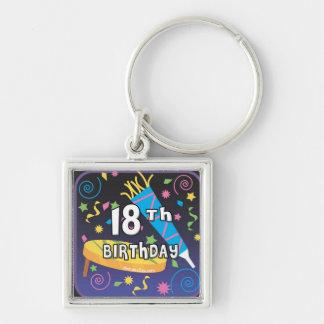 18th Birthday Favors Keychain