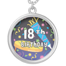 18th Birthday Favors Custom Jewelry