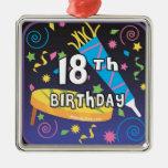18th Birthday Favors Ornaments