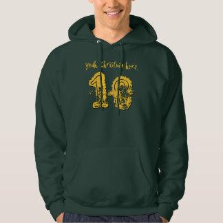 18th Birthday Gift Eighteen Custom Name V02 Hoodie