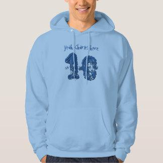 18th Birthday Gift Eighteen Custom Name V04 Hooded Sweatshirt