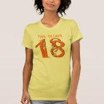 18th Birthday Gift Eighteen V005K Tee Shirts