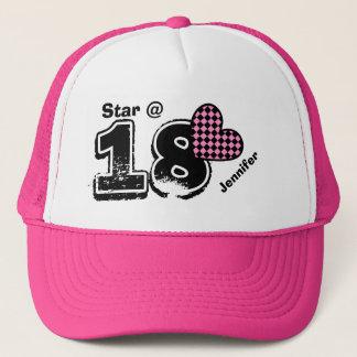 18th Birthday I'm a Star Custom Name V9A Trucker Hat