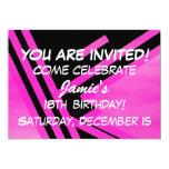 "18th Birthday Invitation 5"" X 7"" Invitation Card"