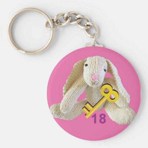 18th birthday keyring keychain daugher friend