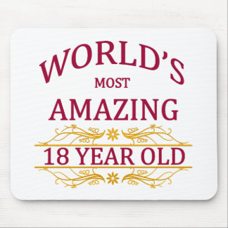 18th. Birthday Mouse Pad