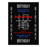 18th Birthday Party Invitation - 18 Invitation