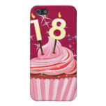 18th Birthday - Pink Cupcake Covers For iPhone 5