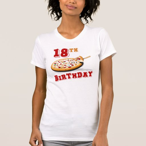 18th Birthday Pizza Party T-Shirt