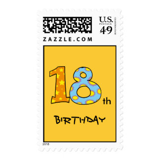 18th Birthday Postage Stamps