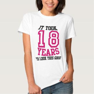 18th Birthday TSHIRT