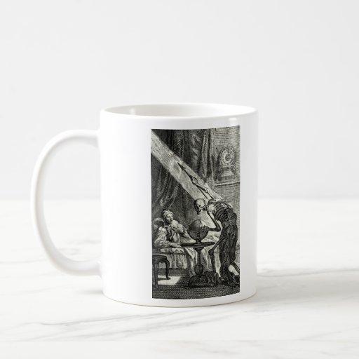 18th C. Grim Reaper Visit Coffee Mug