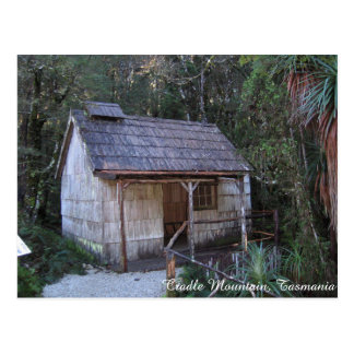 18th Century Bathhouse, Cradle Mountain - Postcard