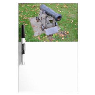 18th Century Cannon Dry-Erase Board