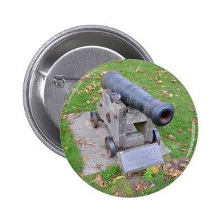 18th Century Cannon Pinback Button