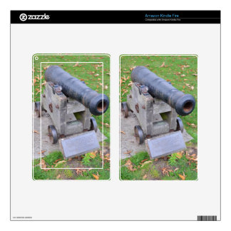 18th Century Cannon Skins For Kindle Fire