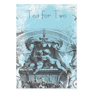 18th Century Cherub Rococo Large Business Card