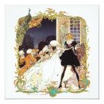 """18th Century Costume Ball Invitation 5.25"""" Square Invitation Card"""
