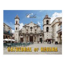 18th Century Havana Cathedral, Havana, Cuba Postcard