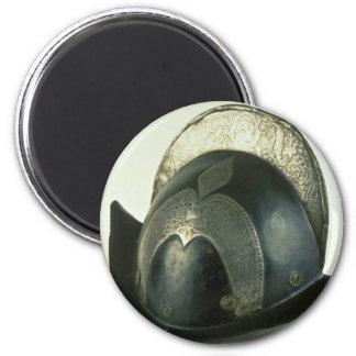 18th century helmet, Malbork, Poland Magnets