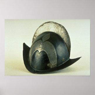 18th century helmet, Malbork, Poland Poster