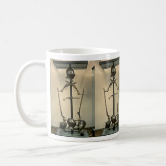 18th century helmets, harquebuses and pistols, Mal Classic White Coffee Mug