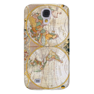 18th Century Map Samsung Galaxy S4 Covers