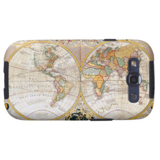 18th Century Map Galaxy SIII Covers