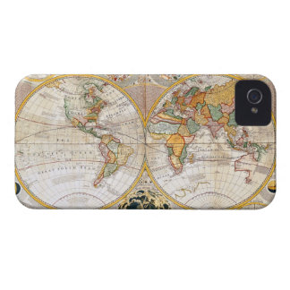 18th Century Map iPhone 4 Covers