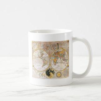 18th Century Map Coffee Mug