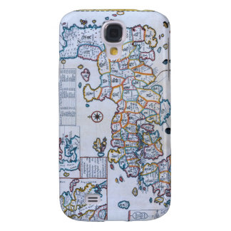 18th Century Map of Japan Galaxy S4 Covers