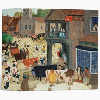 18th century Mayfair cattle market Binder