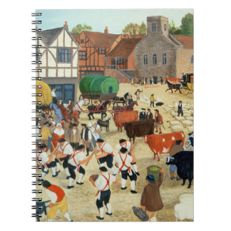 18th century Mayfair cattle market Notebook