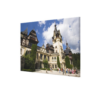 18th Century Peles Castle, Sinaia, Romania, 2 Canvas Print