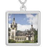 18th Century Peles Castle, Sinaia, Romania, Custom Necklace