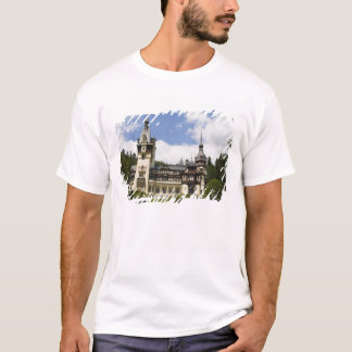 18th Century Peles Castle, Sinaia, Romania, T-Shirt