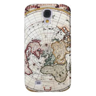 18'th Century Polar Map Samsung Galaxy S4 Cover