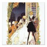 """18th Century Wedding/Costume Ball Invitation 5.25"""" Square Invitation Card"""