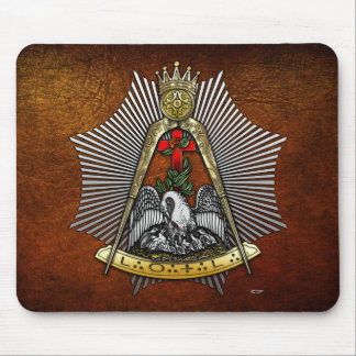 18th Degree: Knight of the Rose Croix Mousepad