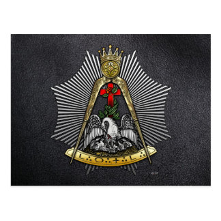18th Degree: Knight of the Rose Croix Post Card