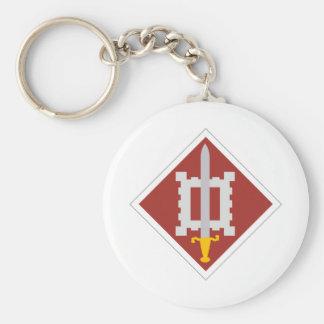 18th Engineer Brigade Keychain