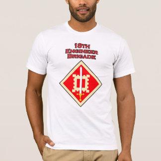 18th Engineer Brigade shoulder patch T-shirt