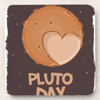 18th February - Pluto Day - Appreciation Day Beverage Coaster