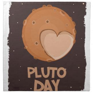 18th February - Pluto Day - Appreciation Day Cloth Napkin