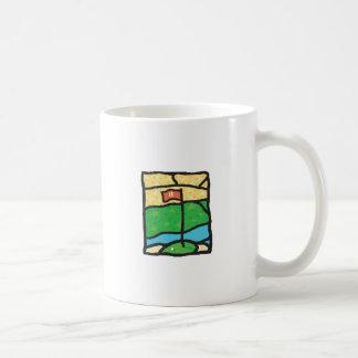 18th Green Golf Design Coffee Mug