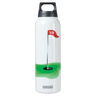 18th Hole 16 Oz Insulated SIGG Thermos Water Bottle